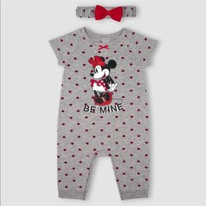 Disney Minnie Mouse Romper and Headband